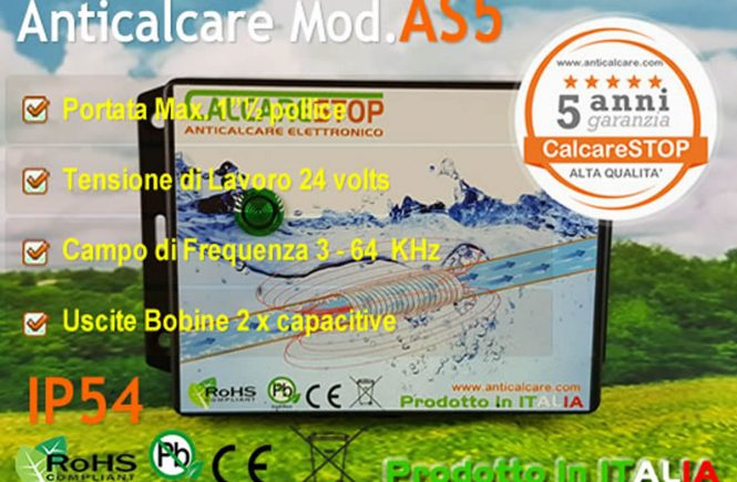 Anticalcare AS5-IP54